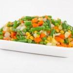 různé Mražená zelenina — Stock fotografie