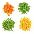Different frozen vegetables — Stock Photo #9417092