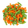 Different frozen vegetables — Foto Stock