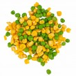 Different frozen vegetables — Stock Photo #9417224