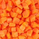 Frozen carrots — Stock Photo