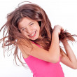 Beautiful young teen girl - Stock Photo