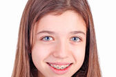 Beautiful young teen girl — Stock Photo