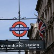 Westminster Station - Stock fotografie