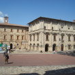 Montepulciano square — Stock Photo
