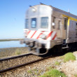 Stock Photo: Train in Faro