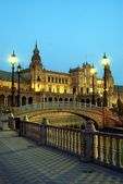 Sevilla lights — Stock Photo