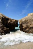 Wave in Albufeira — Stock Photo