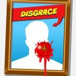 Постер, плакат: The disgrace frame