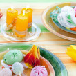 easter table setting — Stock Photo #9448686