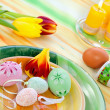 Easter table setting — Stock Photo #9448691