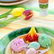 easter table setting — Stock Photo #9448693