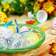 Easter table setting — Stock Photo #9448700