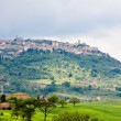 Town of Montalcino in Tuscany — Stock Photo