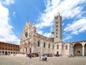 意大利锡耶纳迪大教堂 — 图库照片