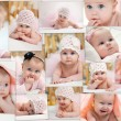 Collage of different photos of children — Stock Photo #9956880