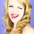 Funny lady — Stock Photo #9725686