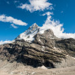 Back side of Matterhorn — Stock Photo