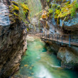 Johnston canyon — Stock Photo