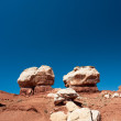 Twin Rocks, Capitol Reef National Park — Stock Photo