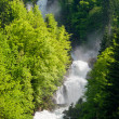 Giessbach waterfalls — Stock Photo