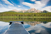 Patricia lake, kanada — Stockfoto