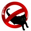 No cats — Stock Vector #10596161