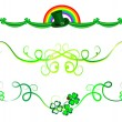 Stock Vector: Garlands