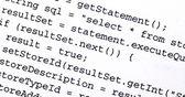 Código fuente — Foto de Stock