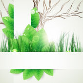 Eco concept design background. — Stock Vector