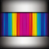 Abstract background with colorful metallic pipes. — Stock Vector