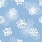 Winter seamless background — Vector de stock