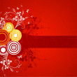 Abstract floral background vector — 图库矢量图片 #8977269
