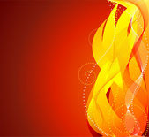 Fire background vector — Stock Vector