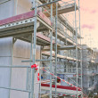 Scaffolding construction building site — Stock Photo
