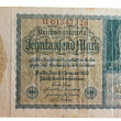 Stock Photo: Historic germinflation Reichsmark