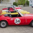 Stock Photo: TRIUMPH Spitfire MK IV from 1973