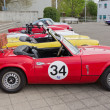 TRIUMPH Spitfire MK IV from 1973 — Stock Photo