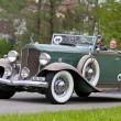 Постер, плакат: Vintage pre war race car Packard Cabriolet from 1932