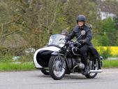 Vintage sidecar motorbike BMW R 51 3 from 1954 — Stock Photo