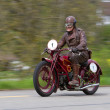 Stock Photo: Vintage motorbike Moto Guzzi C4V from 1924
