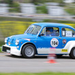 Vintage race touring car Fiat 600 Abarth 1000 TC from  1967 — Stock Photo