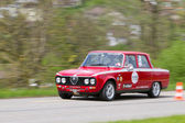Vintage race touring car Alfa Romeo Giulia from 1976 — Stock Photo