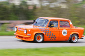 Vintage race touring car Simca Rallye 2 from 1975 — Stock Photo