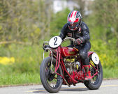 Vintage motorbike Indian Scout-Racer from 1926 — Stock Photo