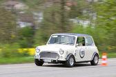 Vintage race touring car Morris Mini Cooper S from 1969 — Stockfoto
