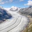 Aletsch glacier, Switzerland — 图库照片