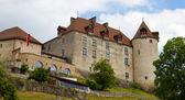 スイス連邦共和国、グリュイ エール城 — ストック写真