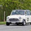 Stock Photo: Vintage race touring car Morris Mini Cooper S from 1969