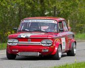 Vintage race touring car NSU 1200 TT from 1971 — Stock Photo